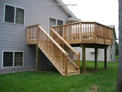 Betz Construction Exterior Decking Railings And Stairs