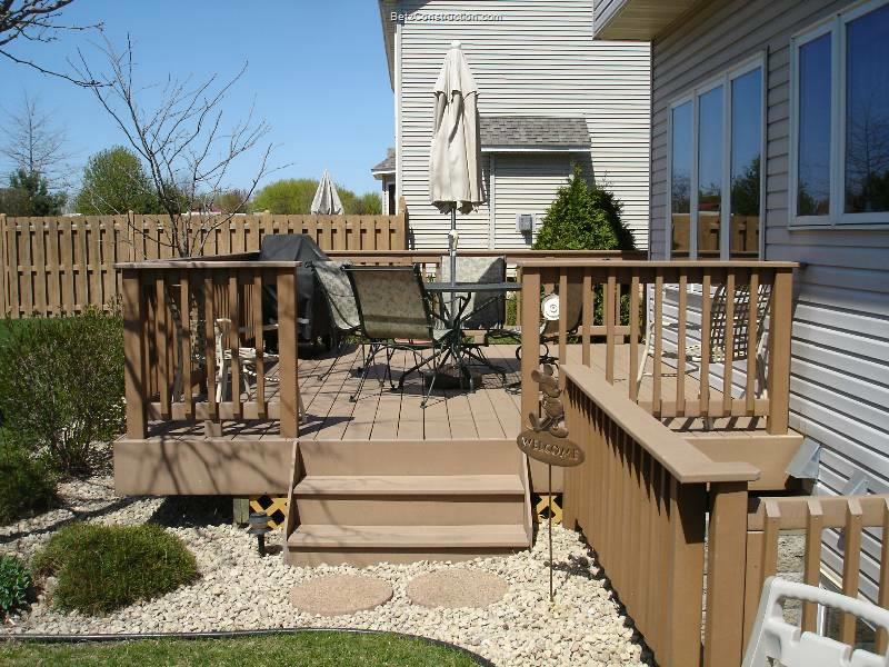 exterior decking twin cities decks and home remodeling photos