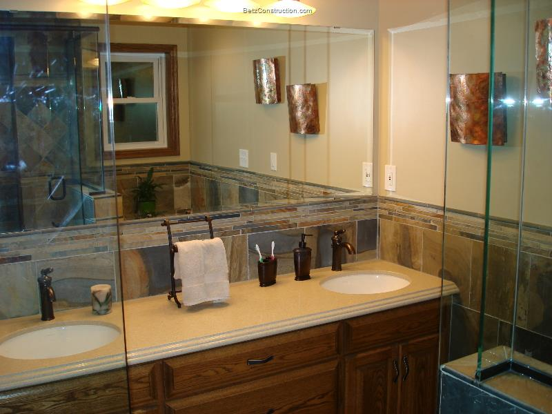 Bathroom Fixtures Twin Cities betz construction bathroom remodeling photos - twin cities decks